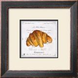 Croissant Prints by Ginny Joyner