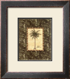 Vintage Palm III Art by Charlene Audrey
