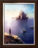 Castle on the Sea Framed Giclee Print by Kyo Nakayama