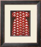 Red Kaftan Print by Richard Nott