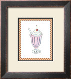 Ice Cream Parlor II Poster by Virginia A. Roper