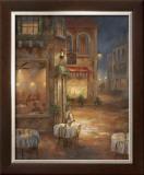 Cafe Marie Print by  Nan
