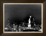 Lady Liberty Framed Giclee Print