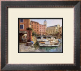 Mediterranean Colors Print by George W. Bates