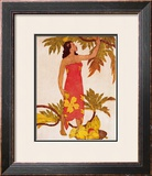 Festival of the Sea Framed Giclee Print by Eugene Savage
