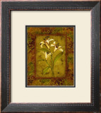 Garden Lilies II Art by Allyn Engman