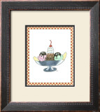 Ice Cream Parlor IV Print by Virginia A. Roper