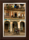 La Maravilla Doors and Windows Framed Giclee Print by Charles Glover