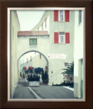 Vecchia Torbole Alley Way Italy Framed Giclee Print by Bill Northup