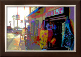 T-Shirts, Venice Beach, California Framed Giclee Print by Steve Ash
