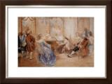 Recital a la Cour Prints by V. De Paredes