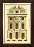 Architectural Facade II Prints by Jean Deneufforge