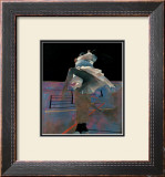 Dancers on a Purple Floor Print by Robert Heindel