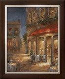Cafe Marquerite Prints by  Nan