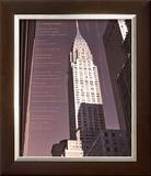 Chrysler Building Architecture Prints by Phil Maier