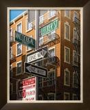Bleeker Street Prints by Eric Peyet