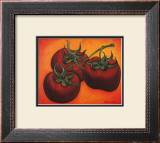 Three Tomatoes Art by Will Rafuse