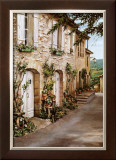 Village Near Avignon Petite Prints by Roger Duvall