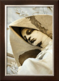 Nun Watching Over Framed Giclee Print by Charles Glover