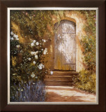 Garden Door, Broughton Castle Print by Michael Felmingham