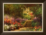 Garden Steps Prints by Allan Myndzak