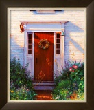 Welcome Home Print by Gretchen Huber Warren