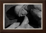 Figurative Statue Framed Giclee Print by Charles Glover