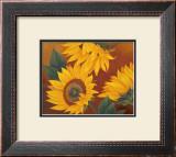 Sunflowers II Prints by Vivien Rhyan