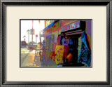 T-Shirts, Venice Beach, California Framed Giclee Print by Steve Ash