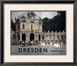 LNER, Dresden via Harwich, 1923-1947 Framed Giclee Print by Fred Taylor