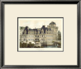 Petite French Chateaux V Print by Victor Petit