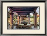 Unter der Brucke von Hampton Court Bridge Prints by Alfred Sisley