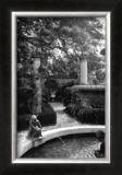 Garden Fountain I Prints by Laura Denardo