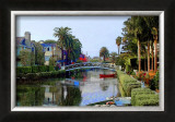 Blue Arch on Canal Framed Giclee Print by Jack Heinz