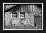 Barn Windows II Poster by Laura Denardo