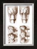 Stone Capitals Print