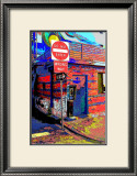 Do Not Enter, Venice Beach, California Framed Giclee Print by Steve Ash