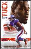 New York Giants - Justin Tuck Poster