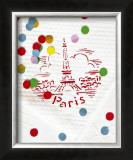 Paris Confettis Prints by Danielle Coquille