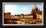 Dresden Neumarkt Prints by Canaletto