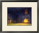 The Fire of the Fireplace Framed Giclee Print by Kyo Nakayama