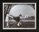 Le Remorqueur du Champ de Mars Poster by Robert Doisneau