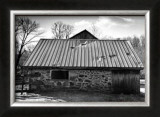 Barn Windows III Prints by Laura Denardo