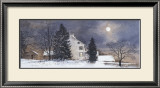 A Cold Night Art by Ray Hendershot