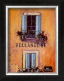 Boulangerie Poster by Karel Burrows