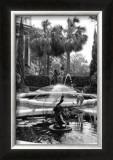 Garden Fountain II Prints by Laura Denardo