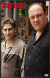 The Sopranos- Tony And Christopher Print