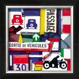 Sortie de Vehicules Print by Fernando Costa