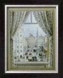 Blick aus dem Fenster auf die Freyung, c.1828 Posters by Balthasar Wigand