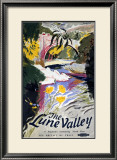 The Lune Valley, British Rail, c.1950 Framed Giclee Print